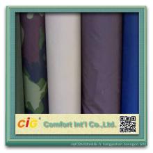Tissu en polyester revêtu de PVC / PU / PE pour sac / vêtement