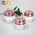 5g 15g 30g 50g 100g 200g forma redonda jarra de creme acrílico colorido