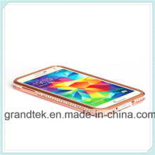 Vente chaude Pare-chocs Cas pour Samsung Galaxy S5luxury Dimond Métal Pare-chocs pour Samsung Galaxy S5 Beaucoup de Couleurs