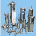 Stainless steel sanitary filter housing