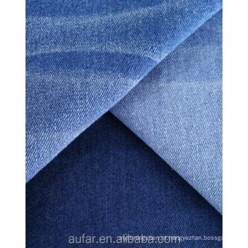 Tecido denim de alta elasticidade de cor índigo de boa qualidade
