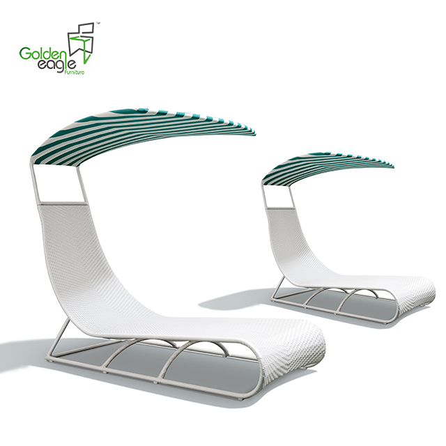 L0107 single beach chair furniture