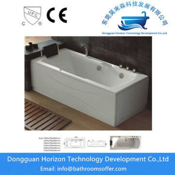 Acrylic jetted tub massage jetted tubs