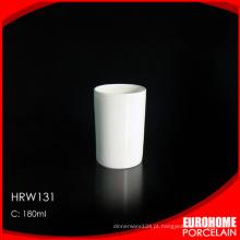 companhia aérea uso china branco café caneca de cerâmica sem puxador