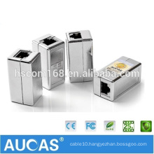 Aucas Brand RJ45 RJ11 Network Cable Inline Coupler Keystone Jacks