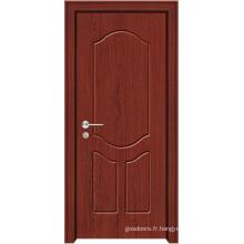 Porte de chambre en bois (WX-PW-101)