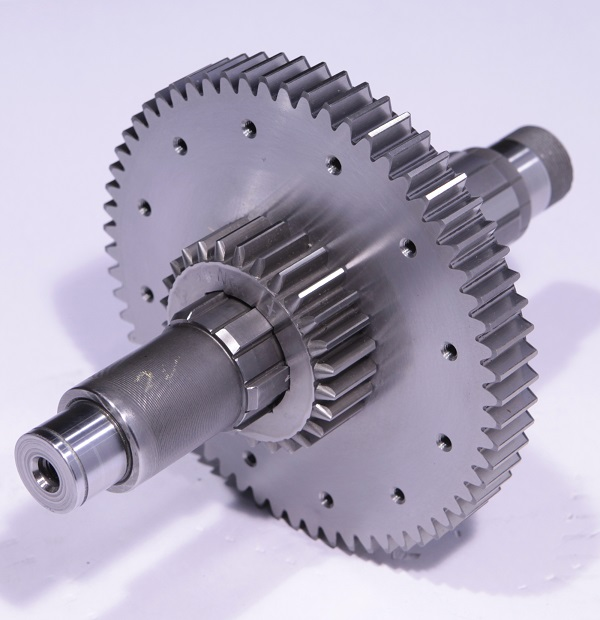 stainless steel spur gear with spline shaft