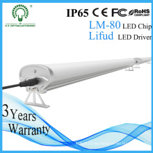 Tubo de luz LED Tri-Proof de 120cm 4 pies IP65 para estacionamiento