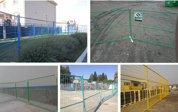 PVC Coated Removable Temporary Fence