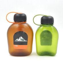 600 ~ 850ml Botella de agua de la PC, botella plástica del deporte, botella del recorrido