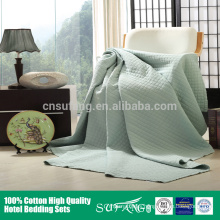 wholesale washed bedspread hotel patchwork bed quilt