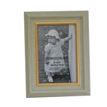 Heißer Verkaufs-preiswerter Plastikfoto-Rahmen für Hauptdeco (635801)