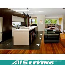 Mobília dos armários de cozinha da placa da partícula da melamina do estilo de país (AIS-K748)