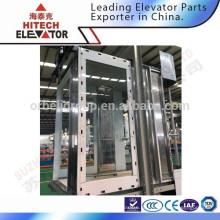 Cabine de elevador de turismo / feita de vidro / tipo de moda
