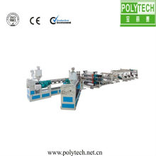 PC/PP/PE/PVC hollow sheet (honey comb) sheet extrusion machine