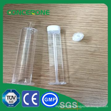 Disposable White Plastic Syringe Luer Lock