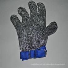 Weit verbreitete Edelstahl-Mesh-Handschuhe zum Schutz der Hände