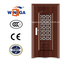 Afrique du Sud Sécurité du marché Sécurité Steel Security Doors (WS-116)