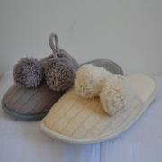 Comfortabele zachte wol pluche mooie binnen dames Slippers
