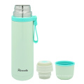 Stainless Steel Vacuum Flask with Loop