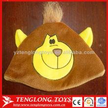 La nueva venta caliente del diseño embroma el sombrero encantador del invierno de la felpa del mono