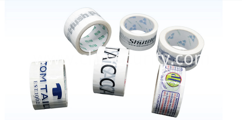 Printed colorful packing adhesive tape