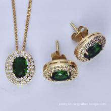 Sterling Silver Zirconia Stone Jewelry Set (YS-2319)