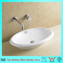 China Manufacturer Bathroom Artistic Sinks Ceramic Basin