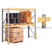 Prateleiras ou estantes de armazenamento simples de duas camadas