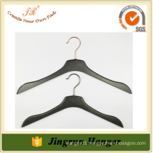 2016 Hot Sale Garment Hanger Black Plastic Clothes Hanger