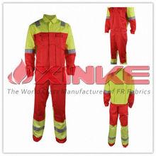 combinaison de sécurité industrielle ignifuge pour vêtements de travail protecteurs