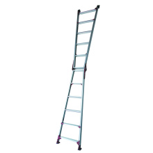 A Frame Aluminum Ladder with Adjustable Feet