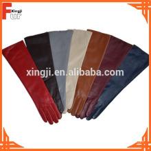 Beste Verkaufende lange Art für Dame Leather Gloves