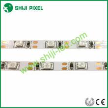 8mm pcb DC 12 V 5 V cor sólida tira flexível luzes led com 3528 2835 SMD LED, VERMELHO / VERDE / AZUL / AMARELO / BRANCO opção