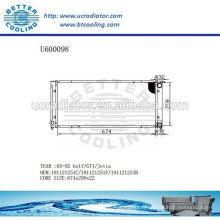 Radiateur automatique pour VOLKSWAGEN Golf / GTI / Jetta 85-92 191121251C / 191121251F / 191121253B