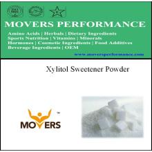 Poudre d'édulcorant de haute qualité: Xylitol