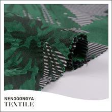 Nueva llegada Diferentes tipos de tela de jacquard de poliéster suave para la ropa