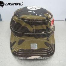 casquillo caliente militar colorido cómodo 100% algodón