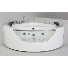 Round Acrylic Indoor Massage Bathtub (JL827)