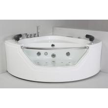 Круглая акриловая крытая массажная ванна (JL827)