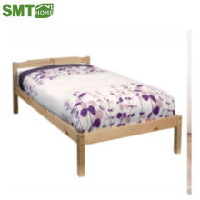 solid pine wood bed + MDF single China factory modern type hot sale