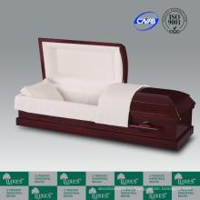 ЛЮКСЫ США популярный стиль шкатулка & гроб для похорон красный шкатулки
