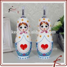 Ceramic Oil and Vinegar Bottle For Cooking