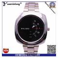 Yxl-368 Mann Uhr Quadrat Gesicht Chronograph Quarz Edelstahl Uhr Paidu Business Luxus Herren Uhren Großhandel