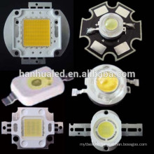 UV COB led chip 100w led diodes 380nm ,50w high power LED 365nm-940nm,multi color full spectrum led chip 1w-500W