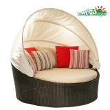 Garden Wicker Round Lounge Outdoor Rattan Furniture (P-RL)