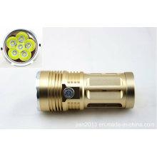 3000 Lm impermeável 6x CREE Xm-L T6 lanterna LED