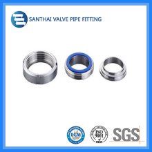 Accesorio sanitario para tubos de acero inoxidable 304 / 316L Clamp Union