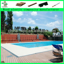 строительный материал WPC напольная плитка