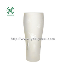 Ice Double Wall Glass Bottles (6.5*5.5*17.5cm 295ml)